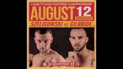 Rich Szeligowski vs. Pat Gilbride Cage Titans 35