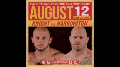 Rob Knight vs. Brian Harrington Cage Titans 35