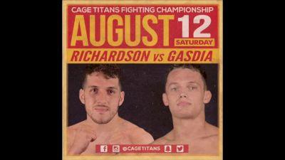 Angelo Richardson vs. Bobby Gasdia Cage Titans 35
