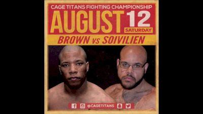 Rob Brown vs. Jeff Solvilien Cage Titans 35