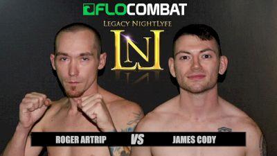 Roger Artrip vs. James Cody VFW Fight Nights