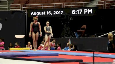 Jade Carey Hits Amanar - 2017 P&G Championships Podium Training