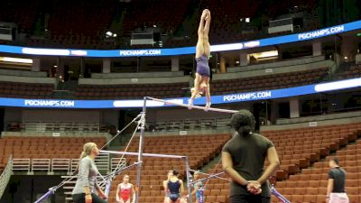 Riley McCusker Training Bars - 2017 P&G Championships Podium Training