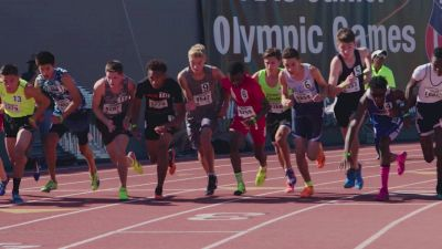 Relive Brandon Miller's Historic AAU 800m Run
