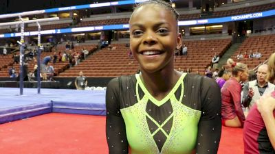 Trinity Thomas On Getting Back To 4 Events For Great Day 1 Performance - 2017 P&G Championships Women Day 1
