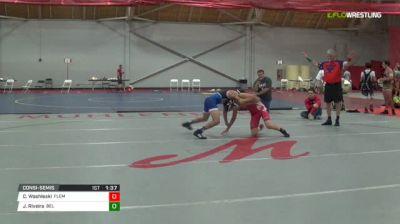 106 Consi-Semis - Colton Washleski, Flemington NJ vs James Riveira, Bel Air MD