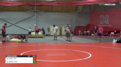 138 Consi-Semis - Sam Lynch, Foster RI vs Scott Jarosz, Succasunna NJ