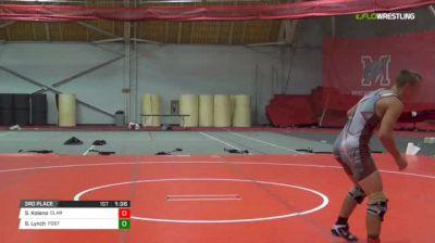 138 3rd Place - Seth Koleno, Clarence PA vs Sam Lynch, Foster RI