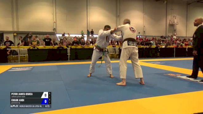 Peter James Oshea vs Edgar Andi World Master Jiu-Jitsu IBJJF Championship