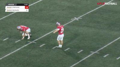 Ryan Nuss 44-Yard Field Goal
