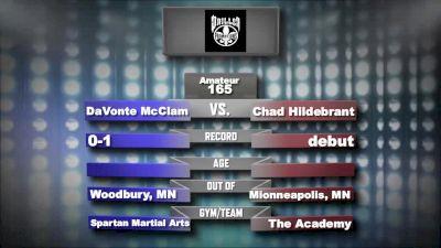 Chad Hildebrant vs. Davonte McClam Mecca X