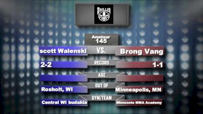 Brong Vang vs. Scott Walenski Mecca X