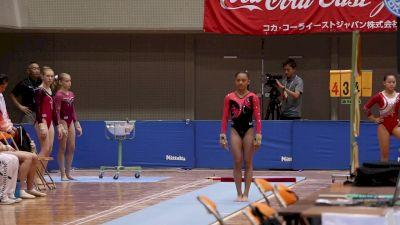 Emma Malabuyo - Vault, USA - Event Finals, 2017 International Junior Japan