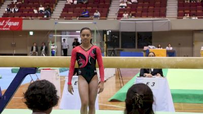 Emma Malabuyo - Beam, USA - Event Finals, 2017 International Junior Japan