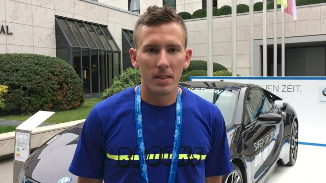Lone American Ryan Vail Aiming For Big PB In Berlin