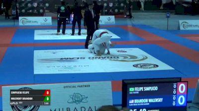 SIMPLICIO FELIPE vs WALENSKY BRANDON Abu Dhabi Grand Slam Los Angeles
