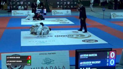 MAHECHA BRIAN vs WALENSKY BRADON Abu Dhabi Grand Slam Los Angeles