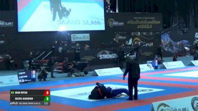JOAO MIYAO vs ALEXIS ALDUNCIN Abu Dhabi Grand Slam Los Angeles