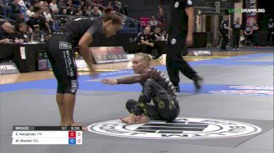 Elvira Karppinen vs Michelle Nicolini ADCC 2017 World Championships