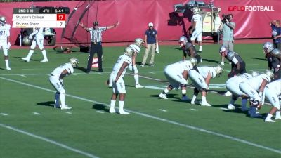 George Holani Scores Second Touchdown Against St. John's College