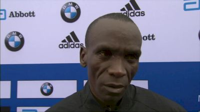 Eliud Kipchoge Still Thinks He Can Break The World Record