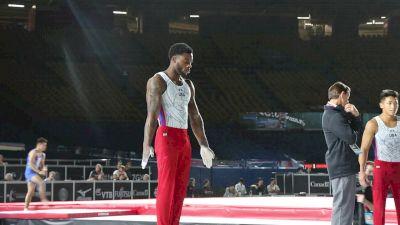 Marvin Kimble - Parallel Bars, USA - Official Podium Training - 2017 World Championships
