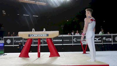 Nile Wilson - Pommel Horse, Great Britain - Official Podium Training - 2017 World Championships
