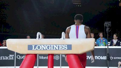 Marvin Kimble - Pommel Horse, USA - Official Podium Training - 2017 World Championships