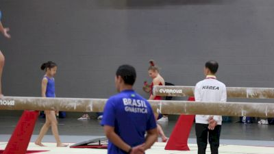 Jade Carey (USA) Tsuk Double Vault - Training Day 2, 2017 World Championships