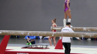 Jade Carey (USA) Amanar Vault - Training Day 2, 2017 World Championships