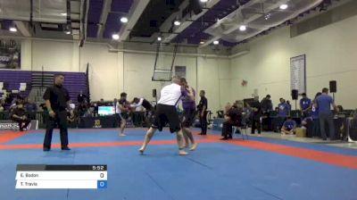Eric Bodon vs Travis Owen Clark Pan IBJJF Jiu Jitsu No Gi Championship