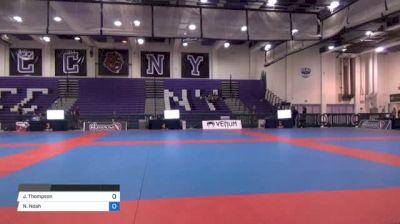 Jermain Thompson vs Noah Daniel Wilson Pan IBJJF Jiu Jitsu No Gi Championship
