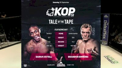 Darius Estell vs. Brandon Emmons - KOP 58 Replay