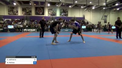 Sean Yadimarco vs Mathew Cummings Pan IBJJF Jiu Jitsu No Gi Championship