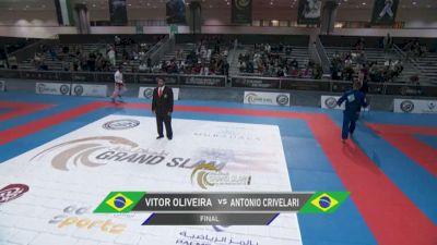Vitor Oliveira vs Antonio Crivelari Abu Dhabi Grand Slam Los Angeles