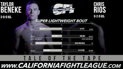 Taylor Beneke vs. Chris Rios CFL 12