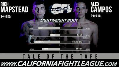 Rich Mapstead vs. Alex Campos CFL 12