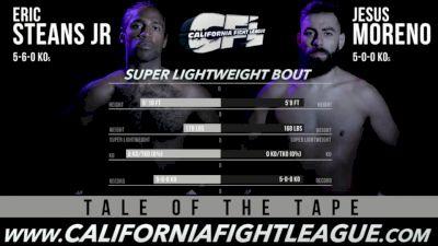 Jesus Moreno vs. Eric Steans Jr CFL 12