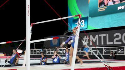 USA Warming Up On Bars - Official Podium Training, 2017 World Championships