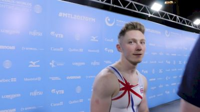 Nile Wilson On Putting Himself In A Good Position For AA Final - Qualifications, 2017 World Championships