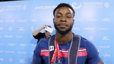 Marvin Kimble Reflects On Worlds Experience - Qualifications, 2017 World Championships