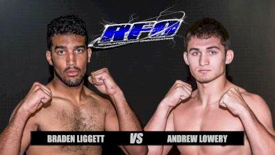 Braden Ligget vs. Andrew Lowrey - RFO Big Guns 25