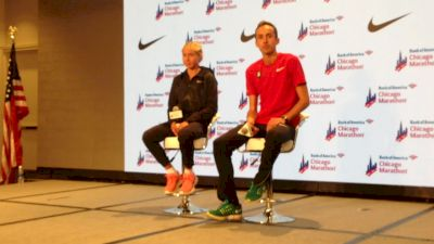 Jordan Hasay discusses comraderie between her and Galen Rupp