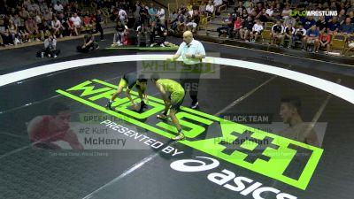 113 lbs Malik Heinselman, Black vs Kurt McHenry, Green