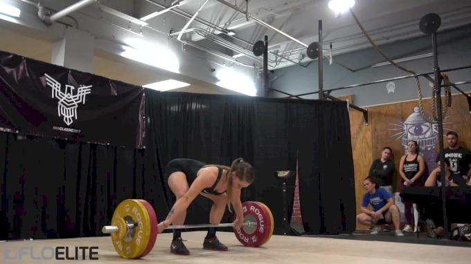 Mattie Rogers Snatches 103kg At MIA 2017