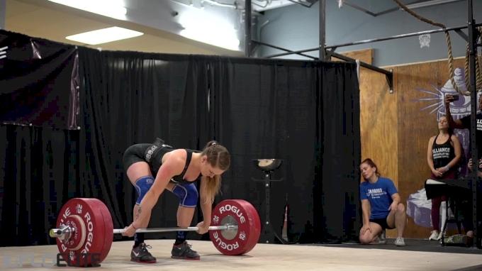 Mattie Rogers Clean & Jerks 135kg At MIA 2017