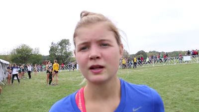 Allie Ostrander fell, had an off day but wants her best race to be NCAAs, not Wisco