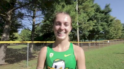 Katie Rainsberger on the Oregon team's relaxed approach this year
