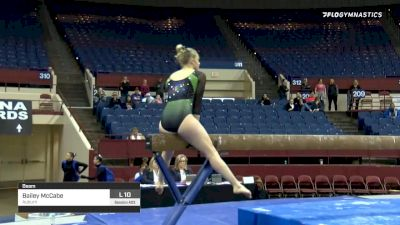 Bailey McCabe - Beam, Auburn - 2020 Metroplex Challenge