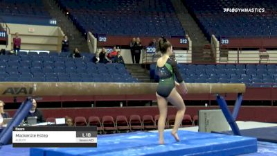 Mackenzie Estep - Beam, Auburn - 2020 Metroplex Challenge
